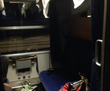Interrail pt. 3: city night line train Bahn to Amsterdam